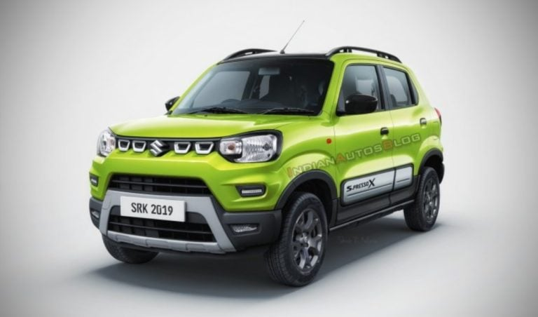 This Is How Maruti Suzuki S-Presso X Will Look – Rendered Image