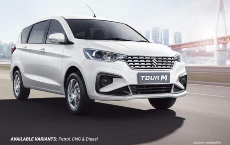Maruti Suzuki Ertiga Tour M Diesel Finally Launched At Rs 9.81 Lakh