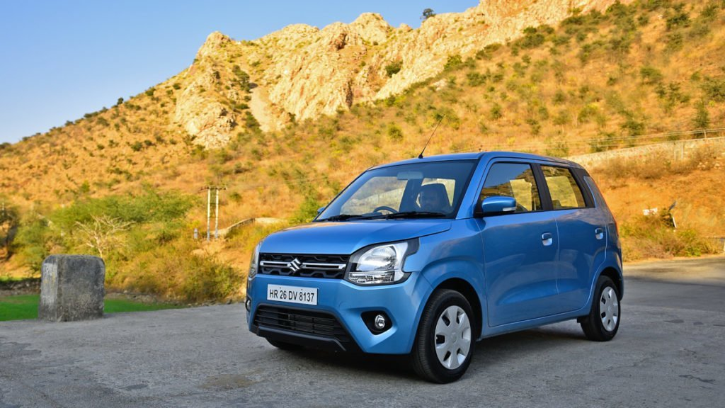 The WagonR is distinguished by the most peppy engine owing to its low Kerb Weight