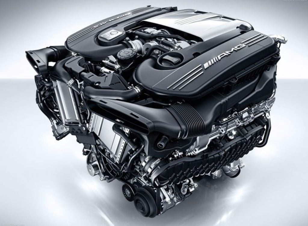 The hybrid M139 engine from the A45 will match the current M177 V8 engine in terms of power output in the next-gen Mercedes-AMG C63