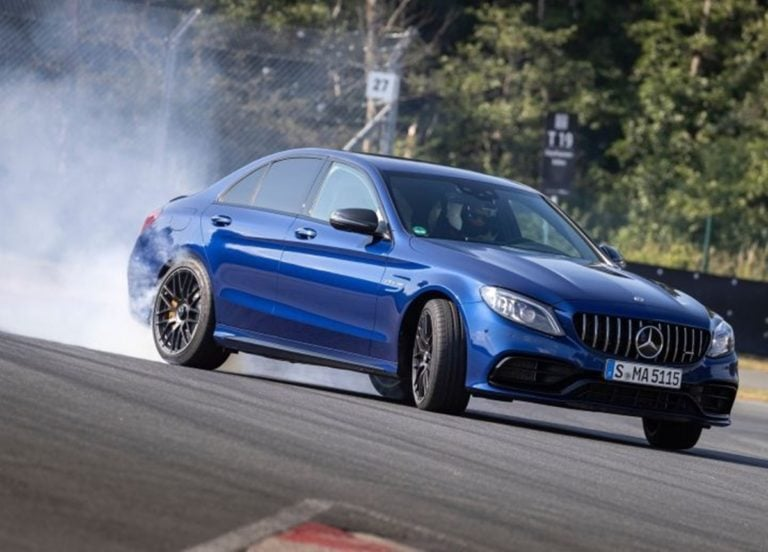 Next-Gen Mercedes-AMG C63 to be Powered by a Four-Cylinder Hybrid Engine!