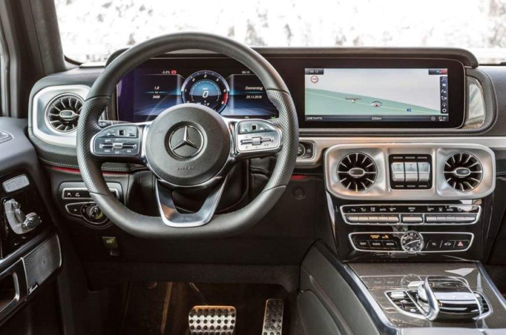 Mercedes G 350 D interiors