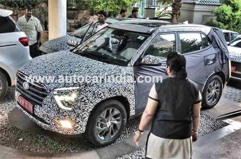 New 2020 Hyundai Creta Reaches India; Spied Testing