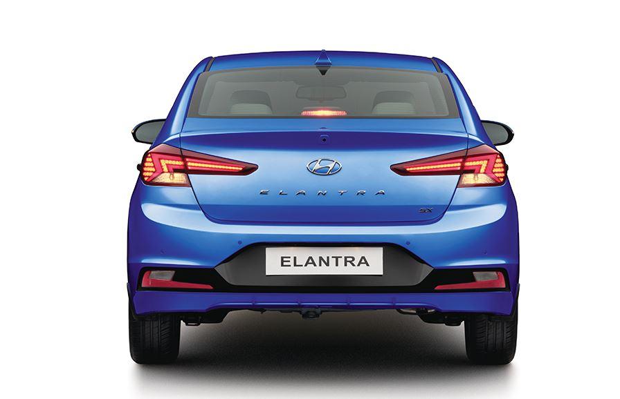 Intérieur de la nouvelle Hyundai Elantra