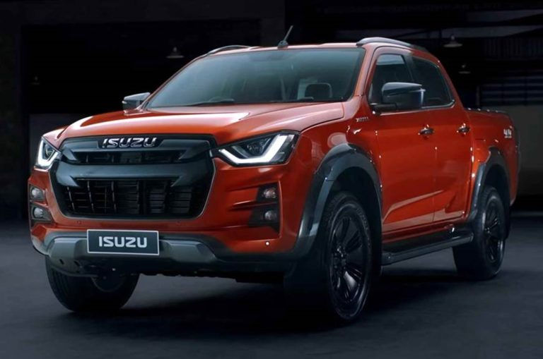 Isuzu Takes Wraps Off the 2020 D-Max Pickup Truck!
