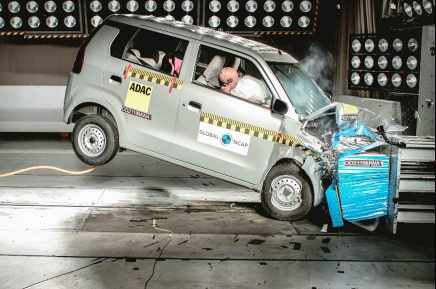 Nouveau test de collision du Maruti WagonR