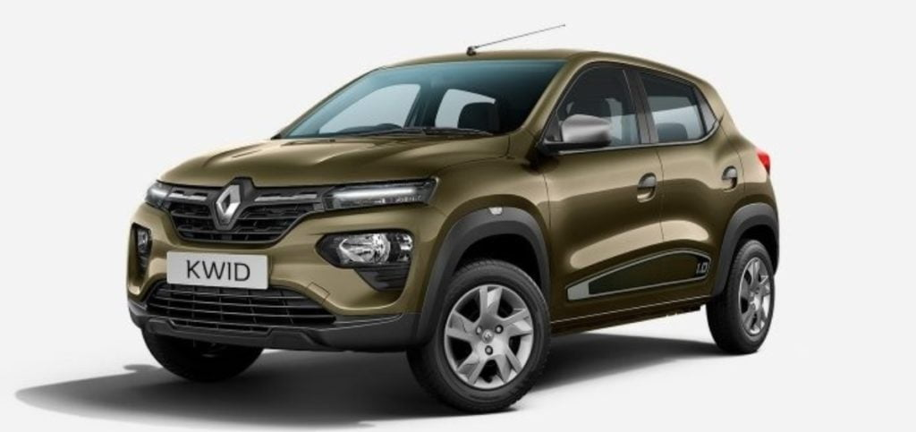 Renult Kwid Facelift Launched Image