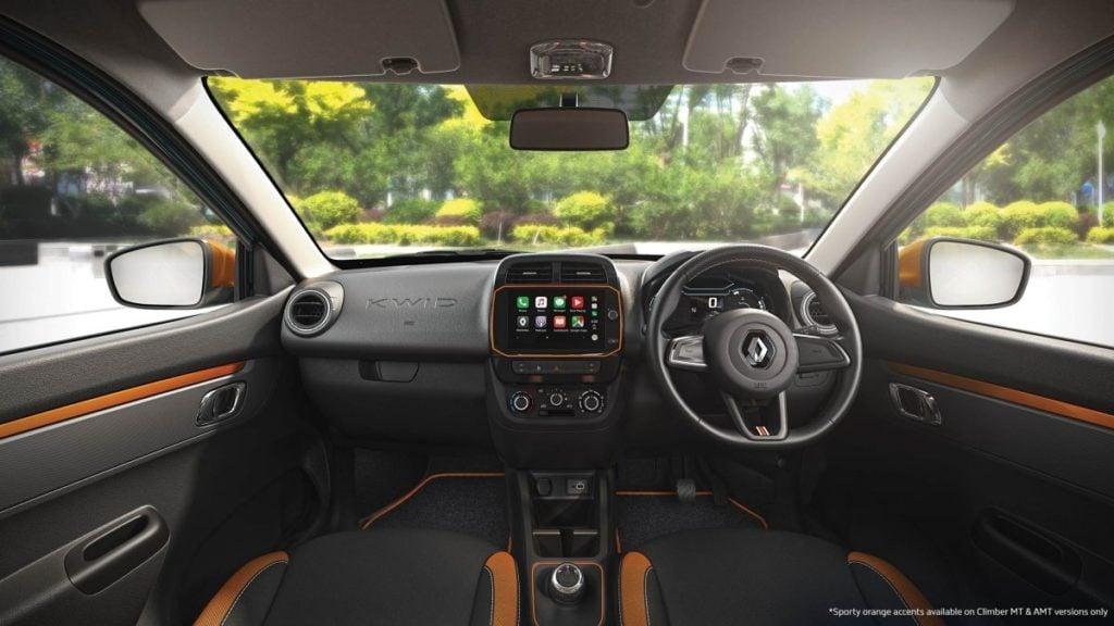 Renault Kwid Interiors
