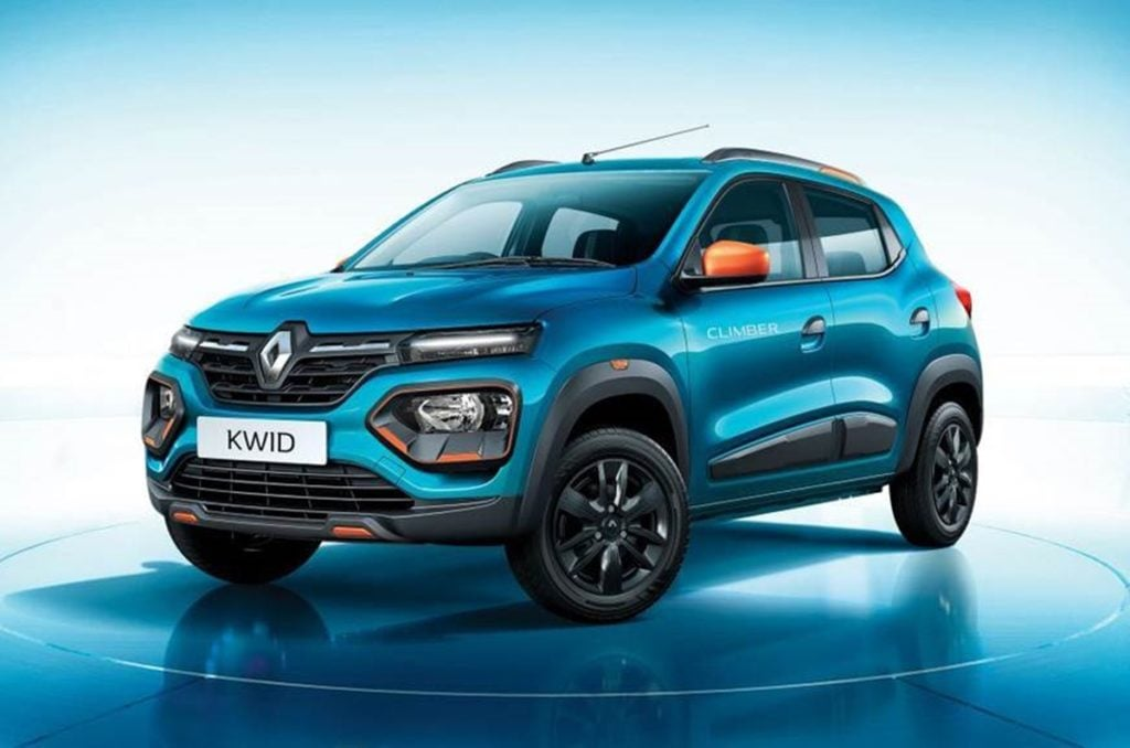 Renault Kwid in the Climber variant
