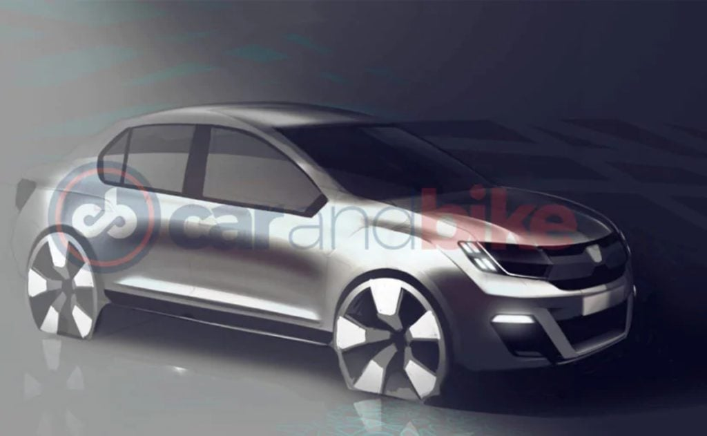 Renault is looking to Develop a India-specific subcompact sedan