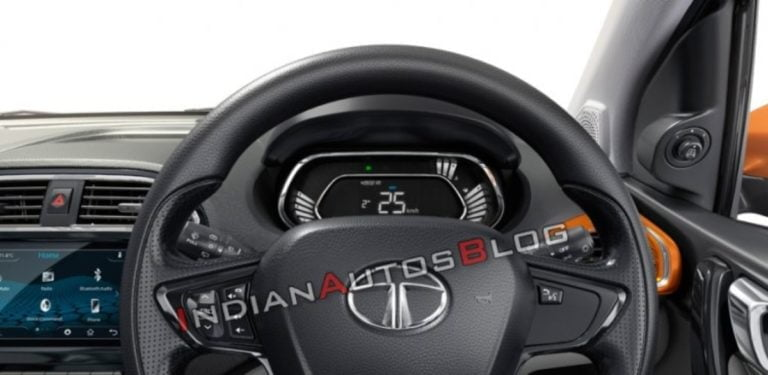 Tata Tiago And Tigor Gets Digital Instrument Cluster – Details