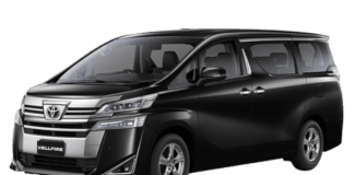 Toyota Vellfire Bookings Image