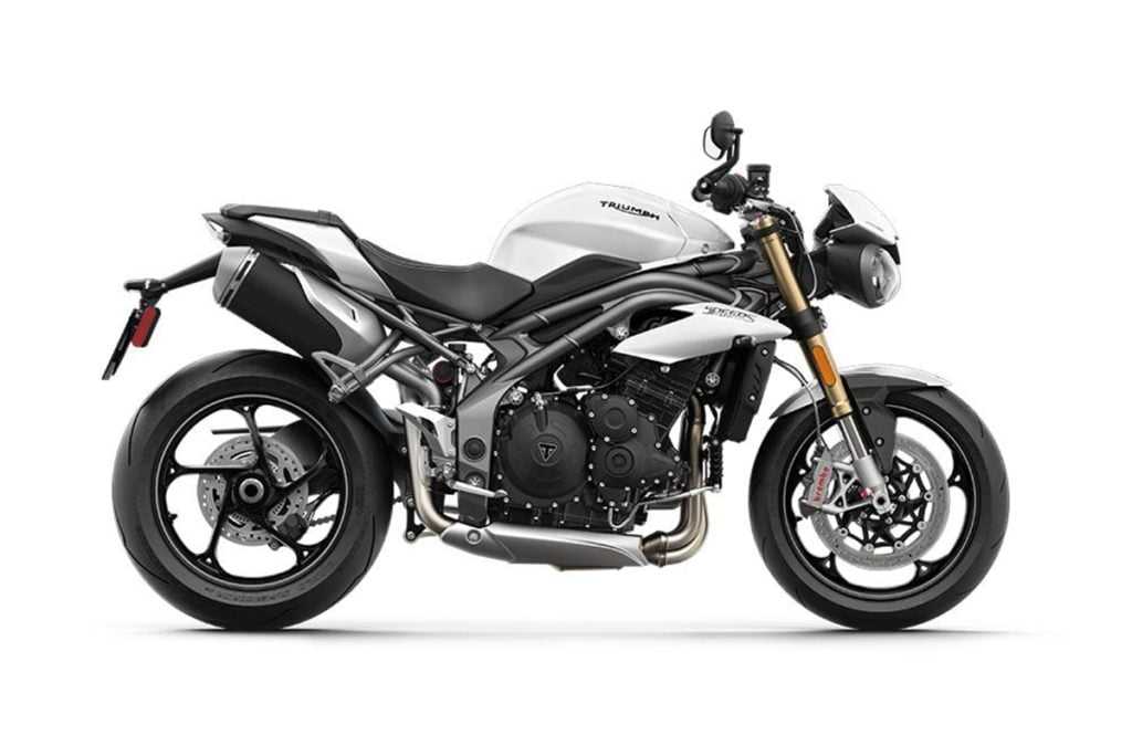 The Street Triple S is the lightest motorcycle in the competition