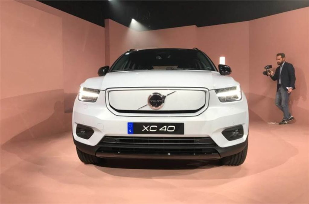 all electric Volvo XC40 Recharge Unveiled