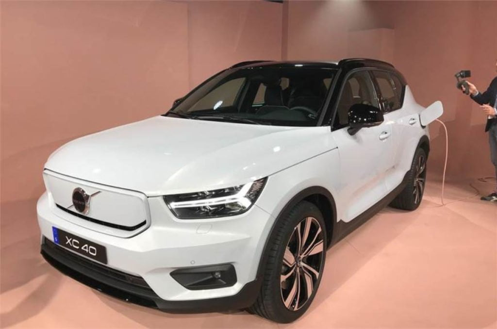 Its based on the same platform as the regular XC40