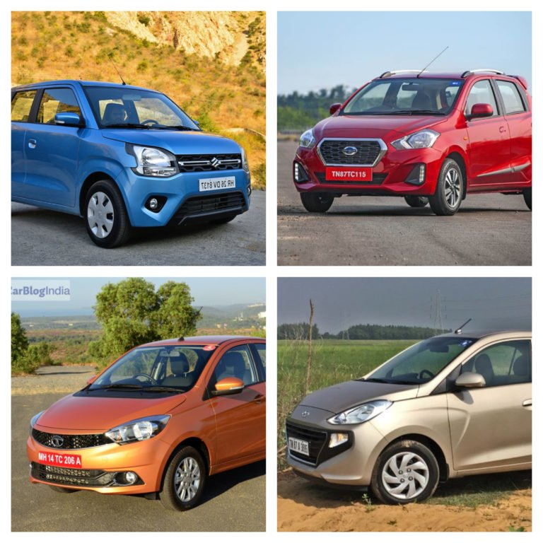 Datsun Go Automatic vs Rivals – WagonR, Santro and Tiago!