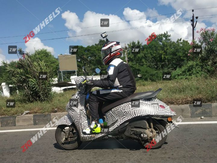BS-6 Yamaha Fascino Spied Testing; Launch Likely By December 2019