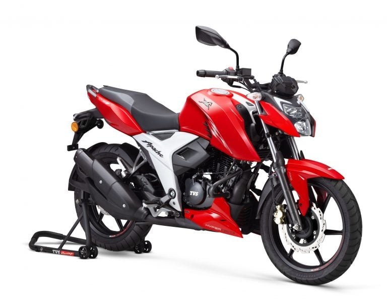 Four Highlights Of The New BS-6 TVS Apache RTR 160 4V