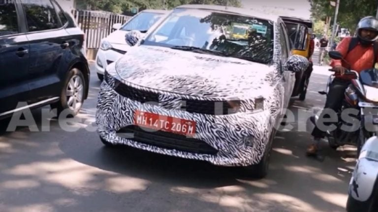 2020 Tata Tiago Facelift – Fresh Spy Shots And Details