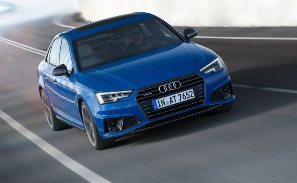 Audi A4 Facelift Image
