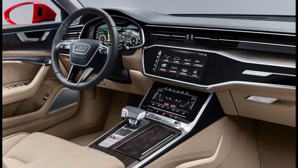 Audi A6 interiors