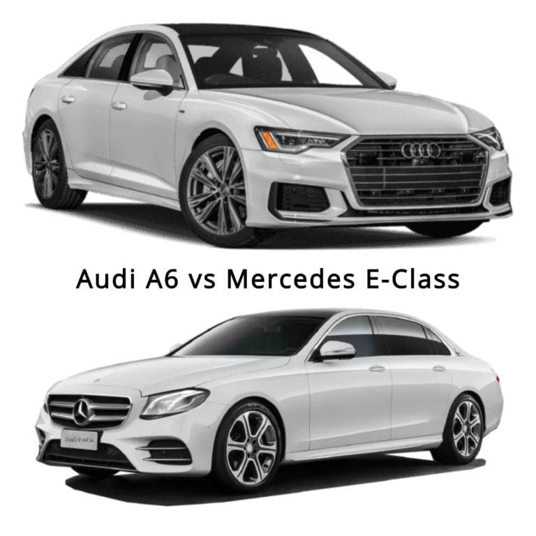 Audi A6 vs Mercedes E-Class – Specifications Comparison!