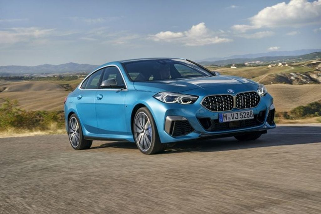 BMW 2 Series Gran Coupe from the LA Motor Show will most likely make it to India