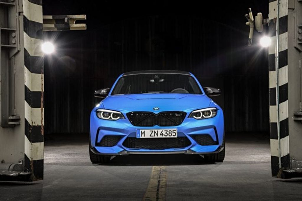 BMW M2 CS, the ultimate M2 unveiled at the LA Motor Show.