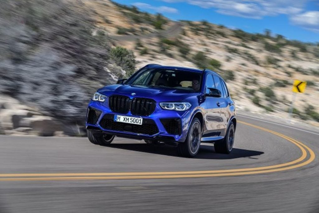The LA Motor Show also saw the global debut of the BMW X5 M