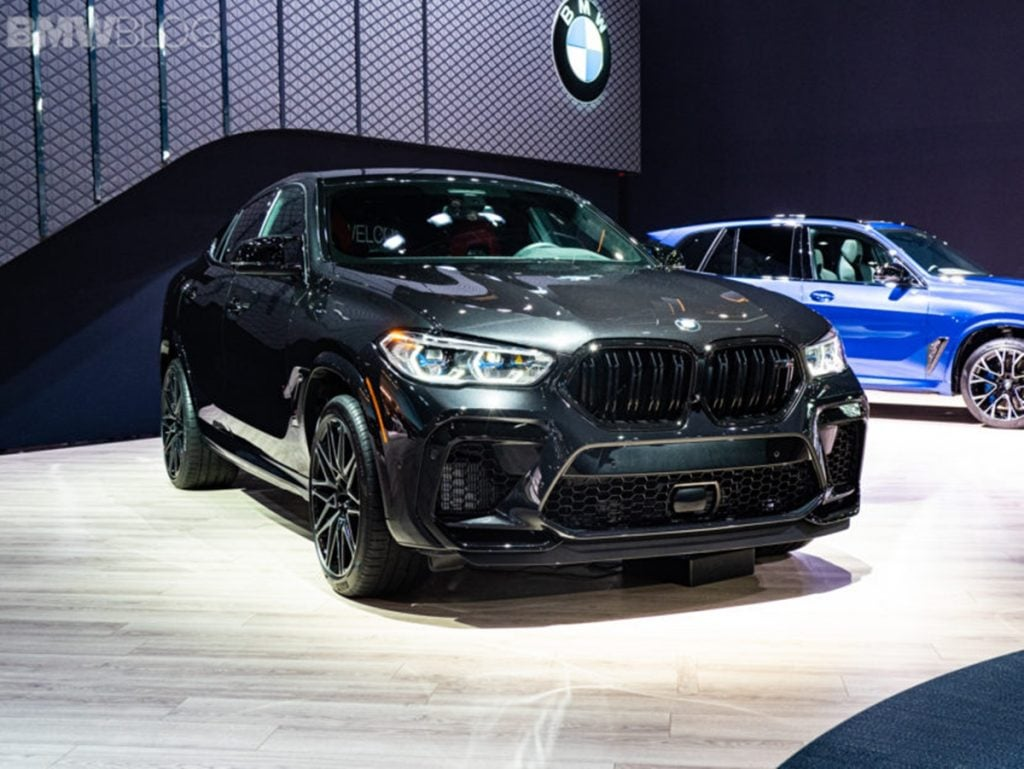 Along with its bigger brother, the BMW X6 M