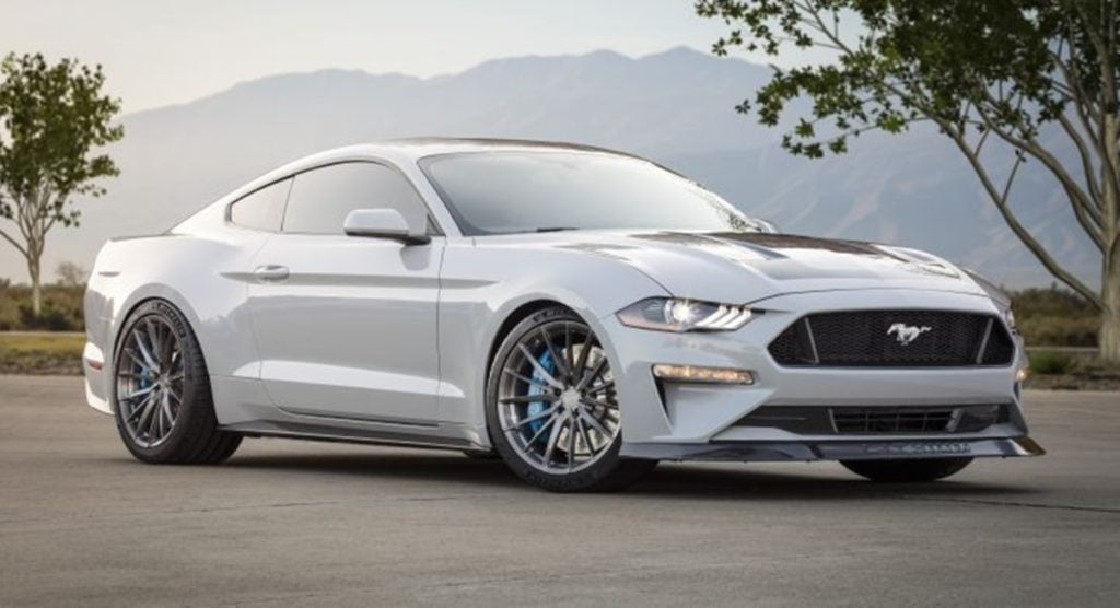 Ford Mustang Lithium Prototype showcased at SEMA 2019