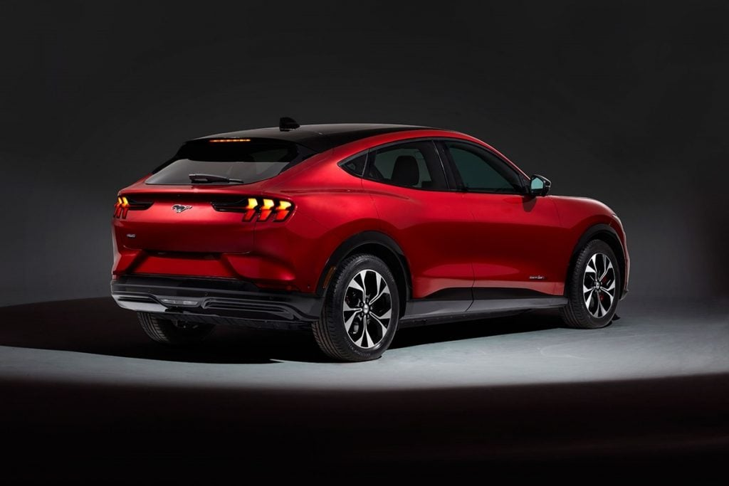 This SUV is inspired by the legendary Mustang muscle car in its design and performance