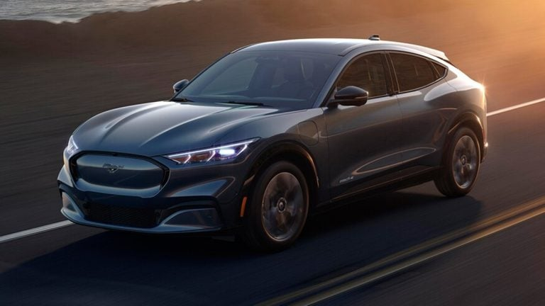 Ford Debuts the Mustang Mach-E All-Electric SUV!