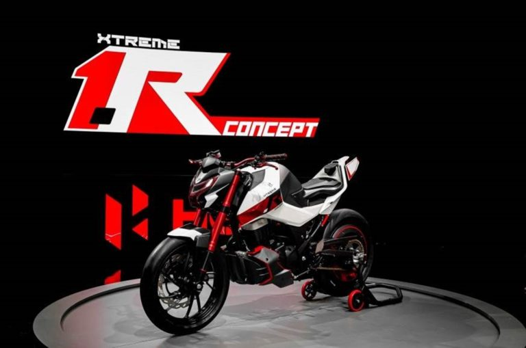 Hero showcases the Xtreme 1.R Concept at the EICMA 2019!
