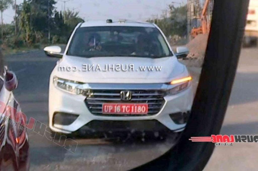 Honda Insight hybrid sedan spotted testing inn India