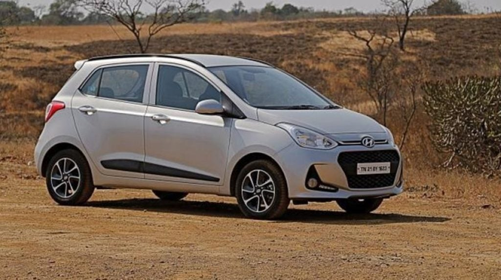 Hyundai Grand I10 Now Available Only In Petrol And Cng In Two