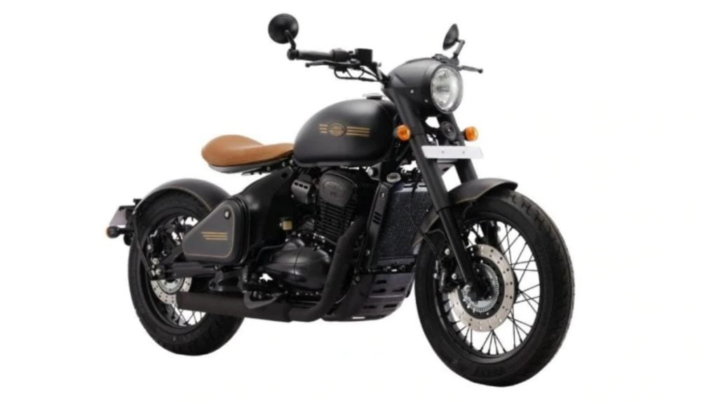 The Jawa Perak is the most affordable bobber styled motorcycle in India