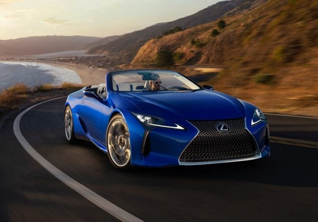 Lexus debuts the LC 500 Convertible at the 2019 LA Motor Show
