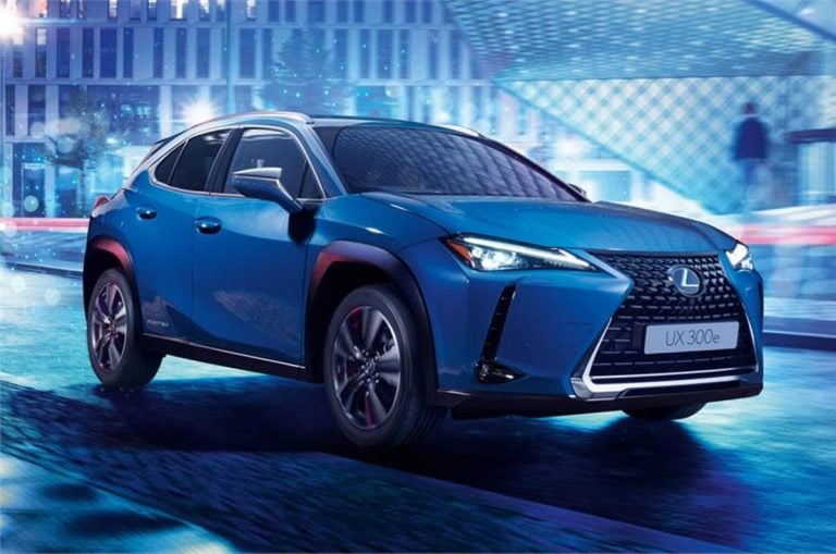 Lexus Unveils its First Production Electric Car – the UX 300e!