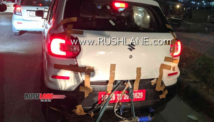 Maruti S-Presso To Soon Get A CNG Variant; Spied Testing