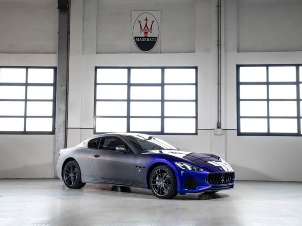 The Maserati GranTourismo Zeda marks the end of production of the GranTourismo