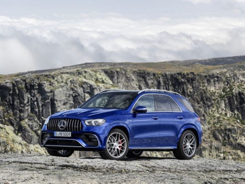 And finally, here's the Mercedes AMG GLE 63