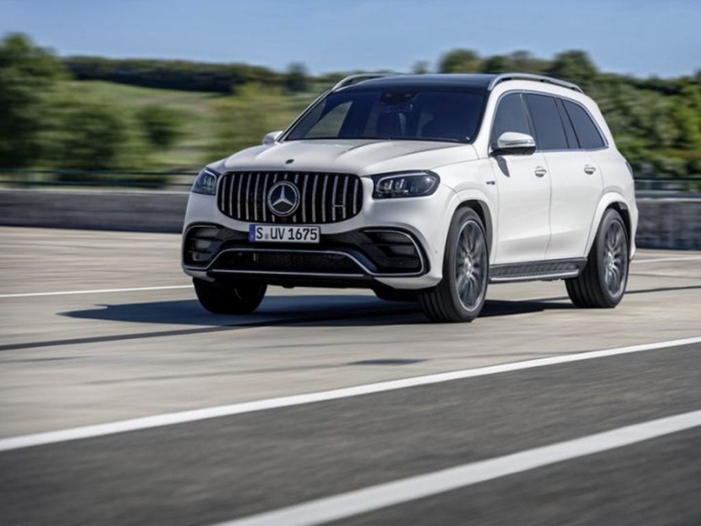 As for more conventional SUVs, Mercedes also launched the AMG GLS 63