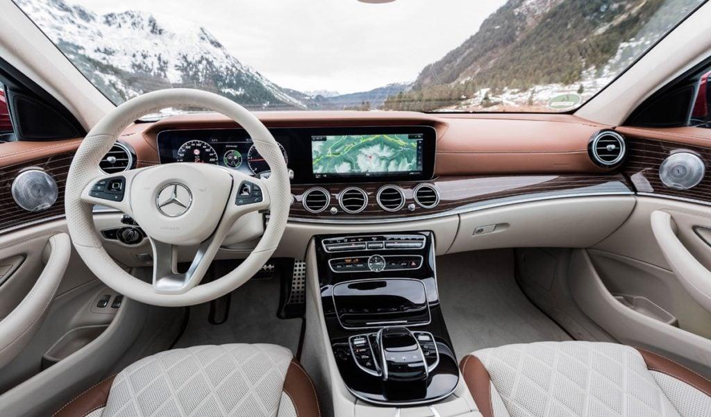 Mercedes E-Class interiors
