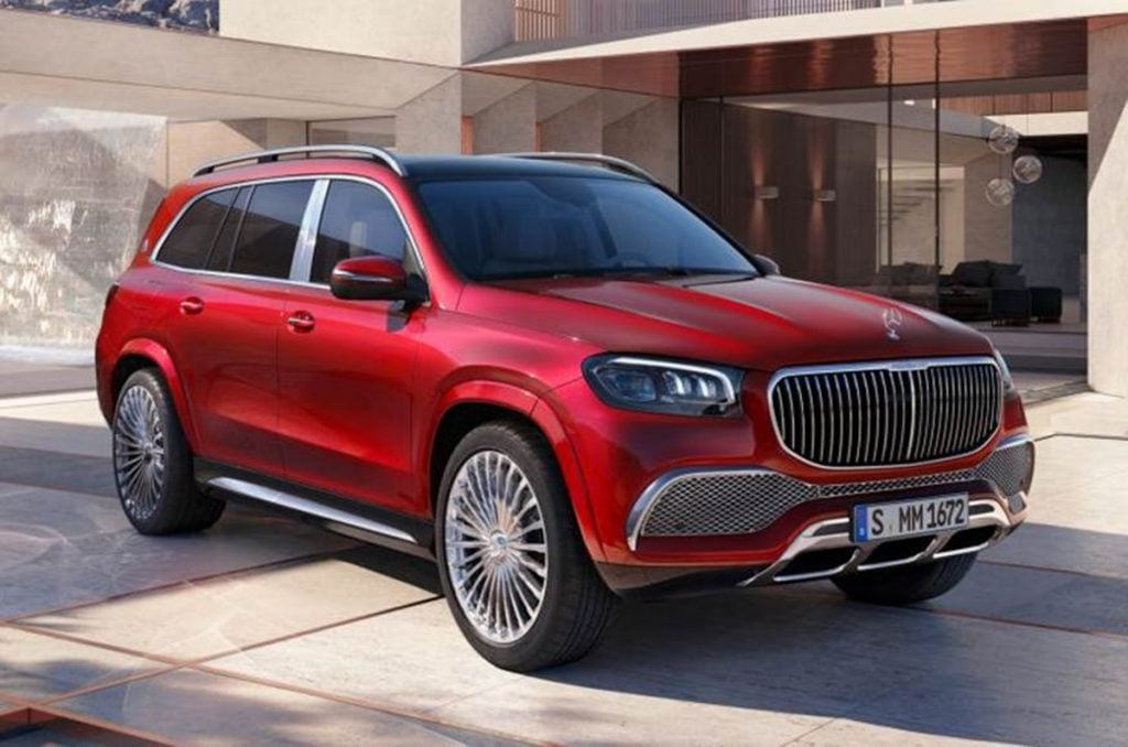 Mercedes has unveiled the all-new Maybach GLS 600
