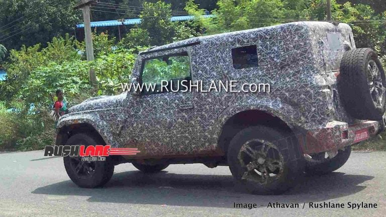 Is It The Jeep Wrangler Or The New 2020 Mahindra Thar?