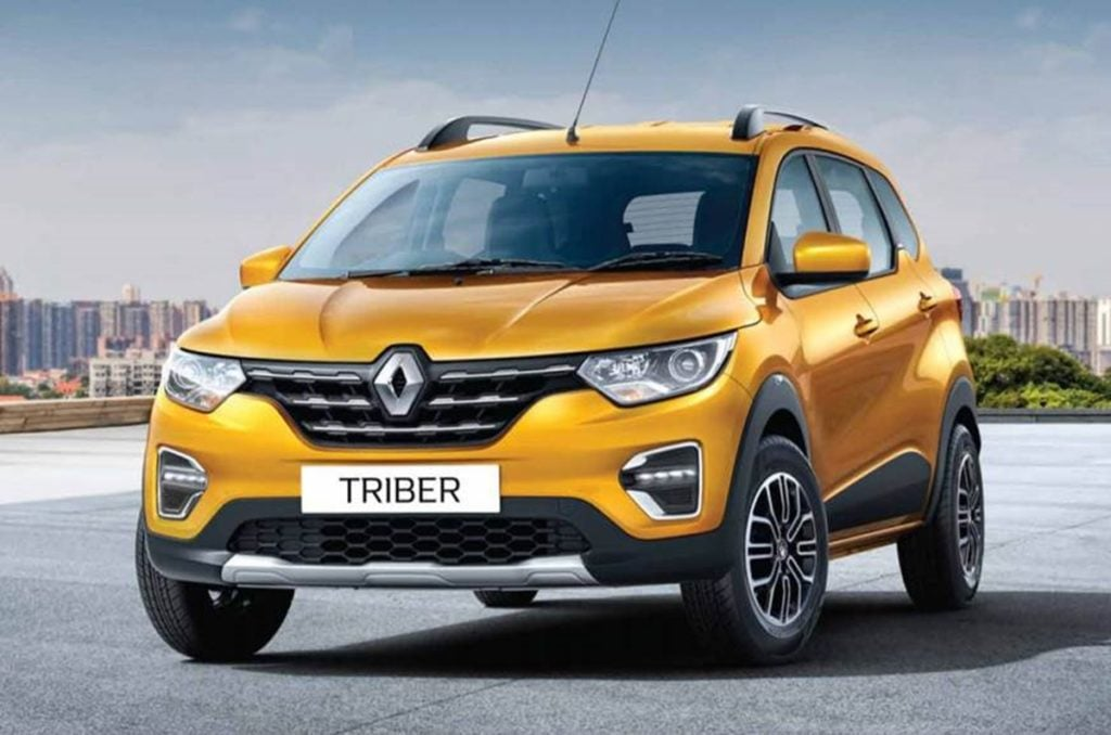 Renault has crossed 10,000 sales units with the Triber