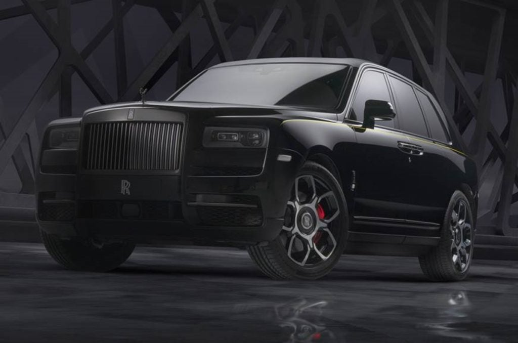 Rolls Royce has unveiled the Cullinan Black Badge Edition