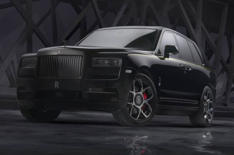 Rolls Royce Unveils the Cullinan Black Badge Edition!