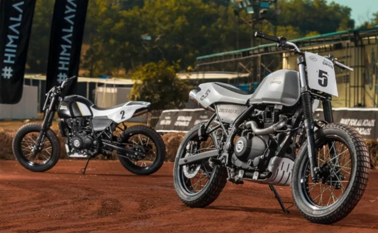 Royal Enfield Unveils the Himalayan Flat Track Racer at the Rider Mania 2019!